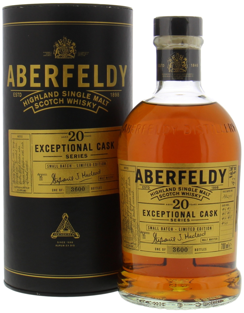 Aberfeldy - 20 Years Old Exceptional Cask Series 43% NV