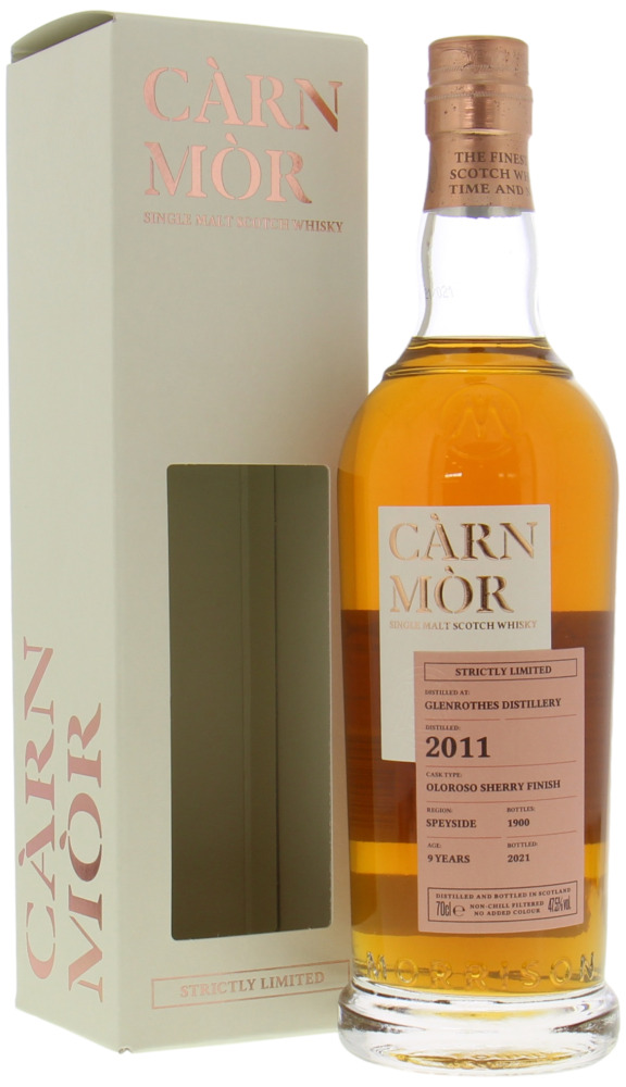 Glenrothes - 9 Years Old Càrn Mòr Strictly Limited Oloroso Sherry Finish 47.5% 2011