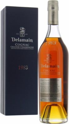 Delamain - Grande Champagne Cognac bottled 2013 1983