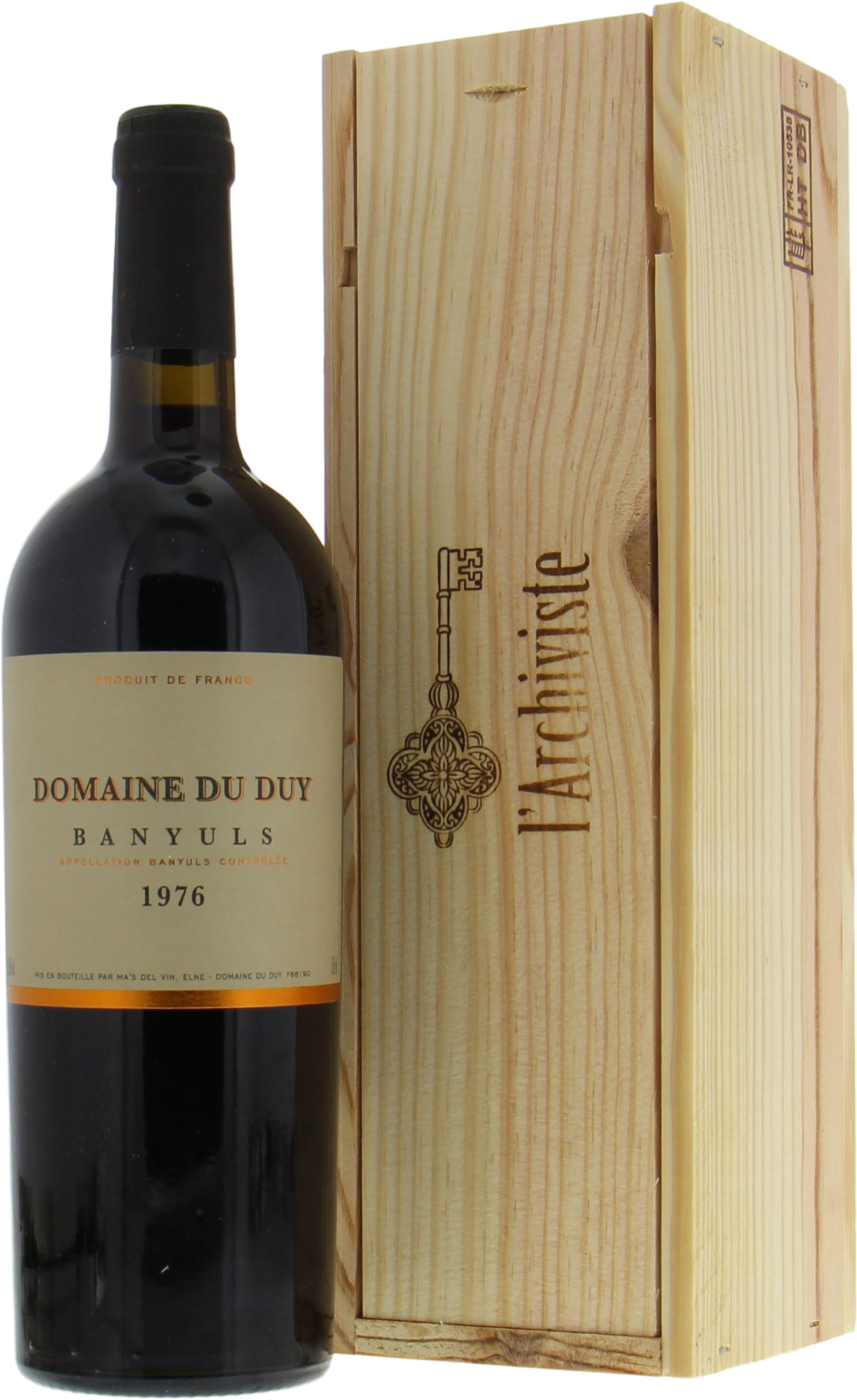 Domaine du Duy - Banyuls 1976