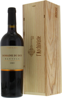 Domaine du Duy - Banyuls 1983