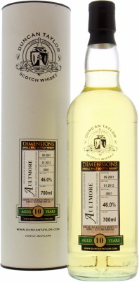 10 Years Old Duncan Taylor Dimensions Batch 1 46%Aultmore -
