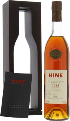 Hine - Early Landed Grande Champagne 1983
