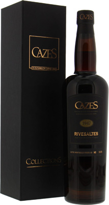 Domaine Cazes - VDN Rivesaltes Collection Cazes 1947