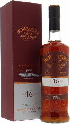 16 Years Old 1992 Wine Cask 53.5%Bowmore -