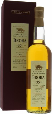 Brora - 13th release 35 years old Limited Edition 48.6% 1978