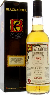 Strathmill - Strathmill 23 Years Old Blackadder Raw Cask 10308 53.3% 1989