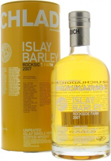 Bruichladdich - 6 Years Old Unpeated Islay Barley Rockside Farm 50%