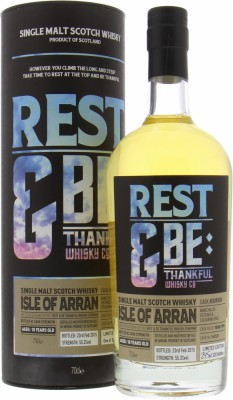 Arran - 18 Years Old Rest & be Thankful Whisky Company Cask 96/528 55.3% 1996