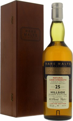 Hillside - 25 Years Old Rare Malts Selection 62% 1971