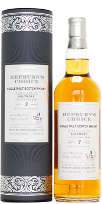 Aultmore - 7 Years Old  Hepburn's Choice 46% 2007