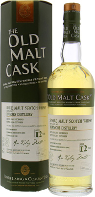 Bowmore - 12 years Old Malt Cask HL0919 50% 2001
