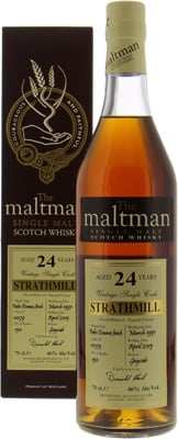 Strathmill - 24 Years Old The Maltman Cask 11079 46% 1991