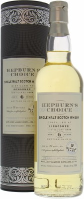 Inchgower - 6 Years Old Hepburn's Choice 46% 2008