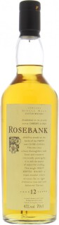 Rosebank - 12 Years Old Flora & Fauna 43%