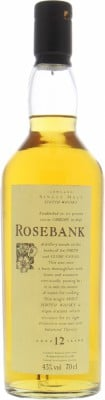 Rosebank - 12 Years Old Flora & Fauna 43% NV
