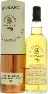 19 Years Old Signatory Vintage Collection Cask:  575 1 Of 405 43%