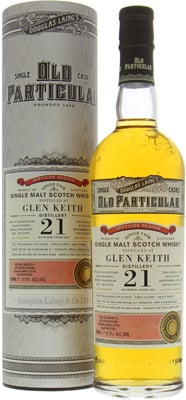 21 Years Old Douglas Laing Old Particular Cask:DL10793 51.5%Glen Keith -
