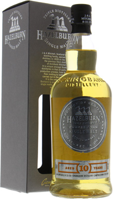 Hazelburn - 10 Years Old 46%  NV