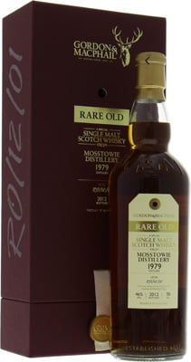 Mosstowie - 1979 Rare Old Gordon & MacPhail Cask RO/12/01 46% 1979