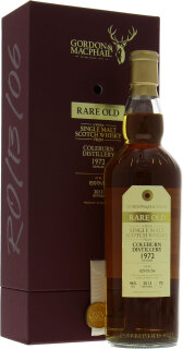 1972 Rare Old Gordon & MacPhail Cask: RO/13/06 46%1972 Rare Old Gordon & MacPhail Cask: RO/13/06 46%