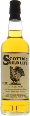 Balmenach - 10 Years Old Signatory Vintage Scottish Wildlife 43% NV