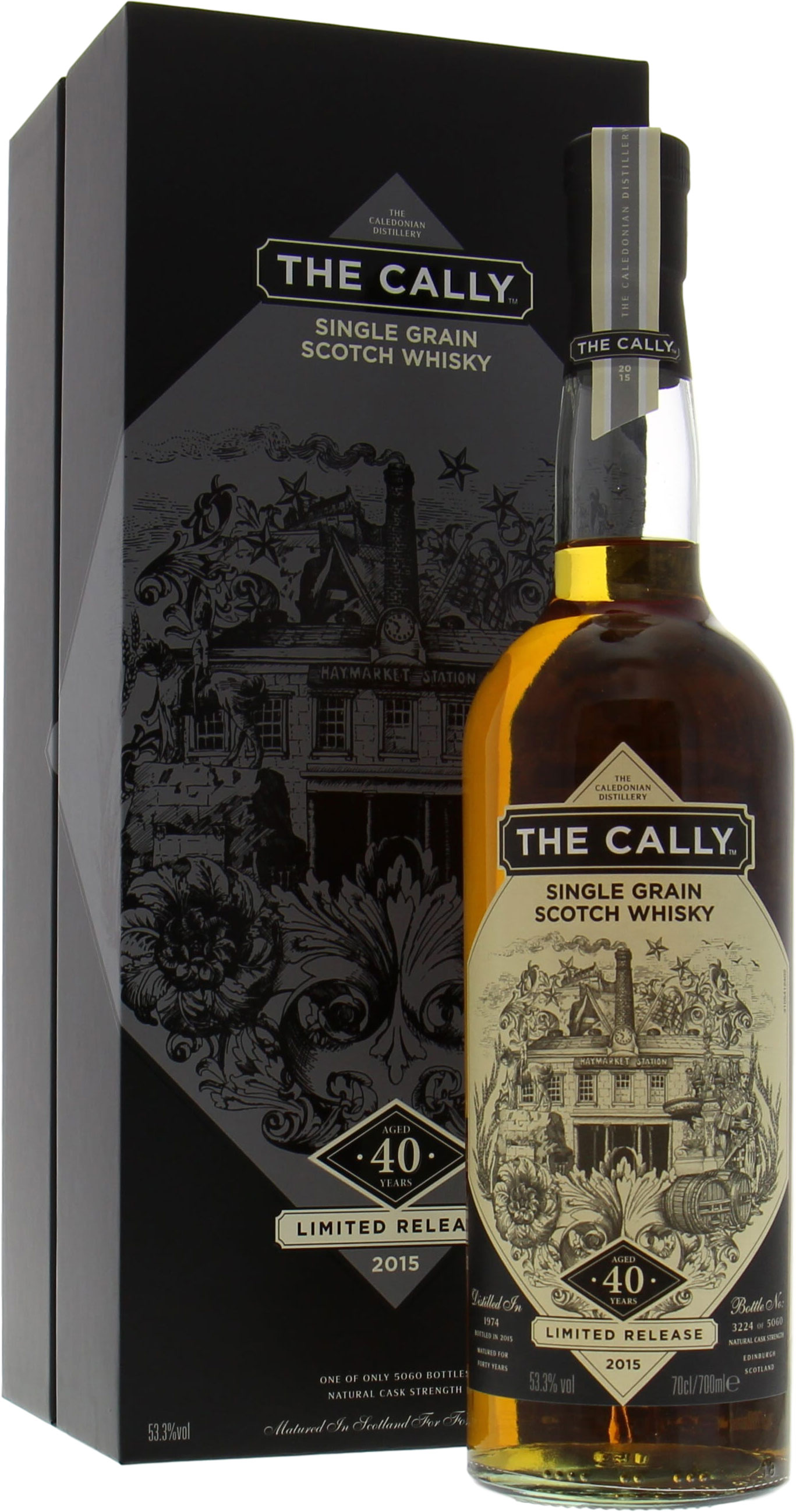 Caledonian - The Cally 40 Years Old Limited Release 2015 53.5% 1974