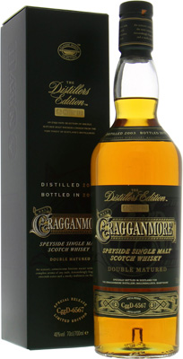 Cragganmore - Distillers Edition 2015 Bottlecode: CggD-6567 40% 2003