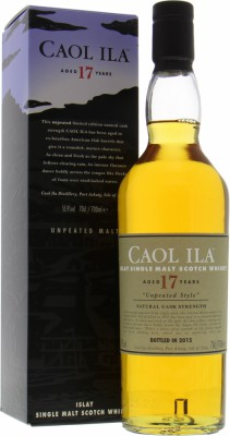 Caol Ila - 17 Years Old 1997 Unpeated Style Diageo Special Release 2015 55.9% 1997