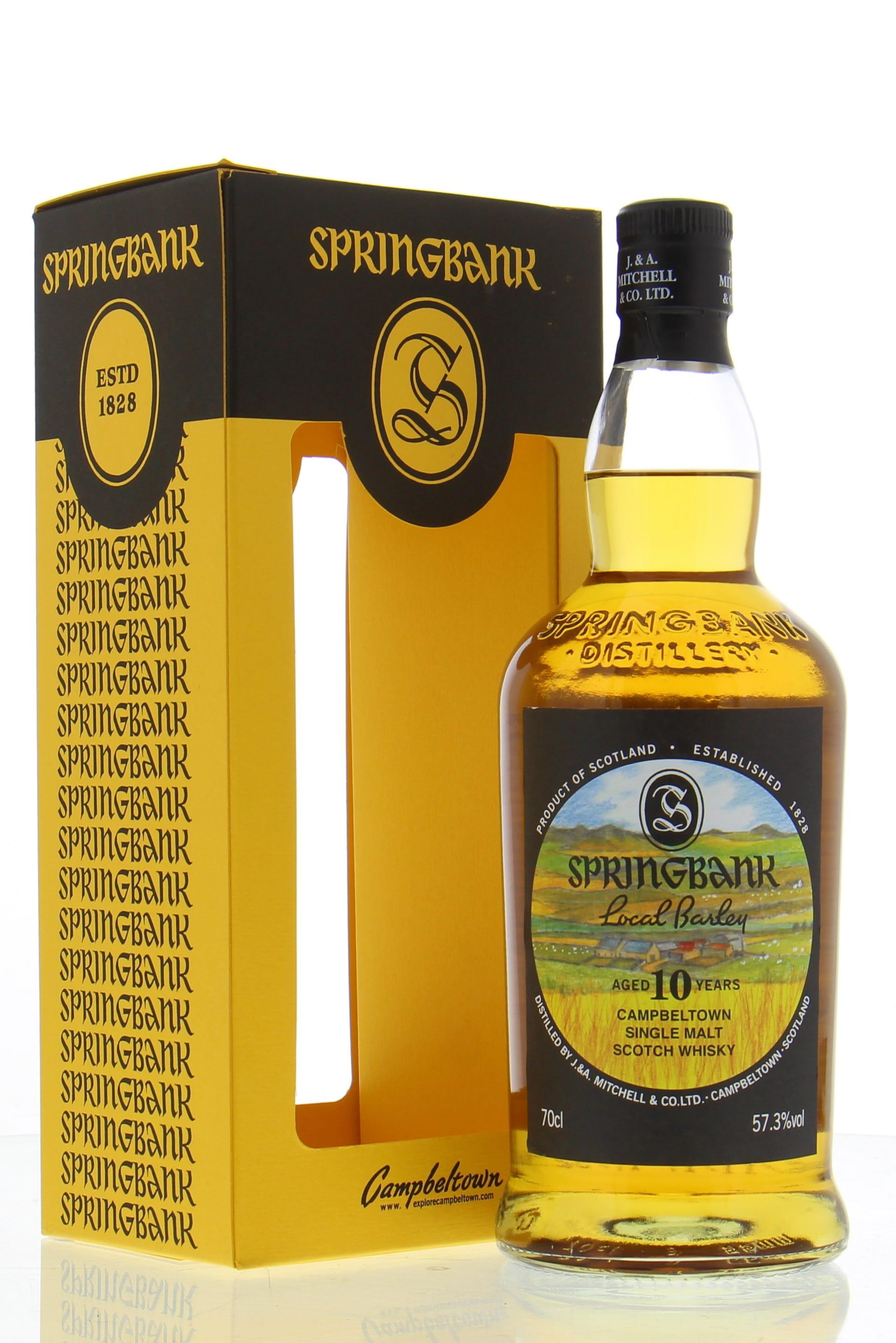 Springbank 10 Years Old Local Barley 57.3% 2007 (0.7 l ...