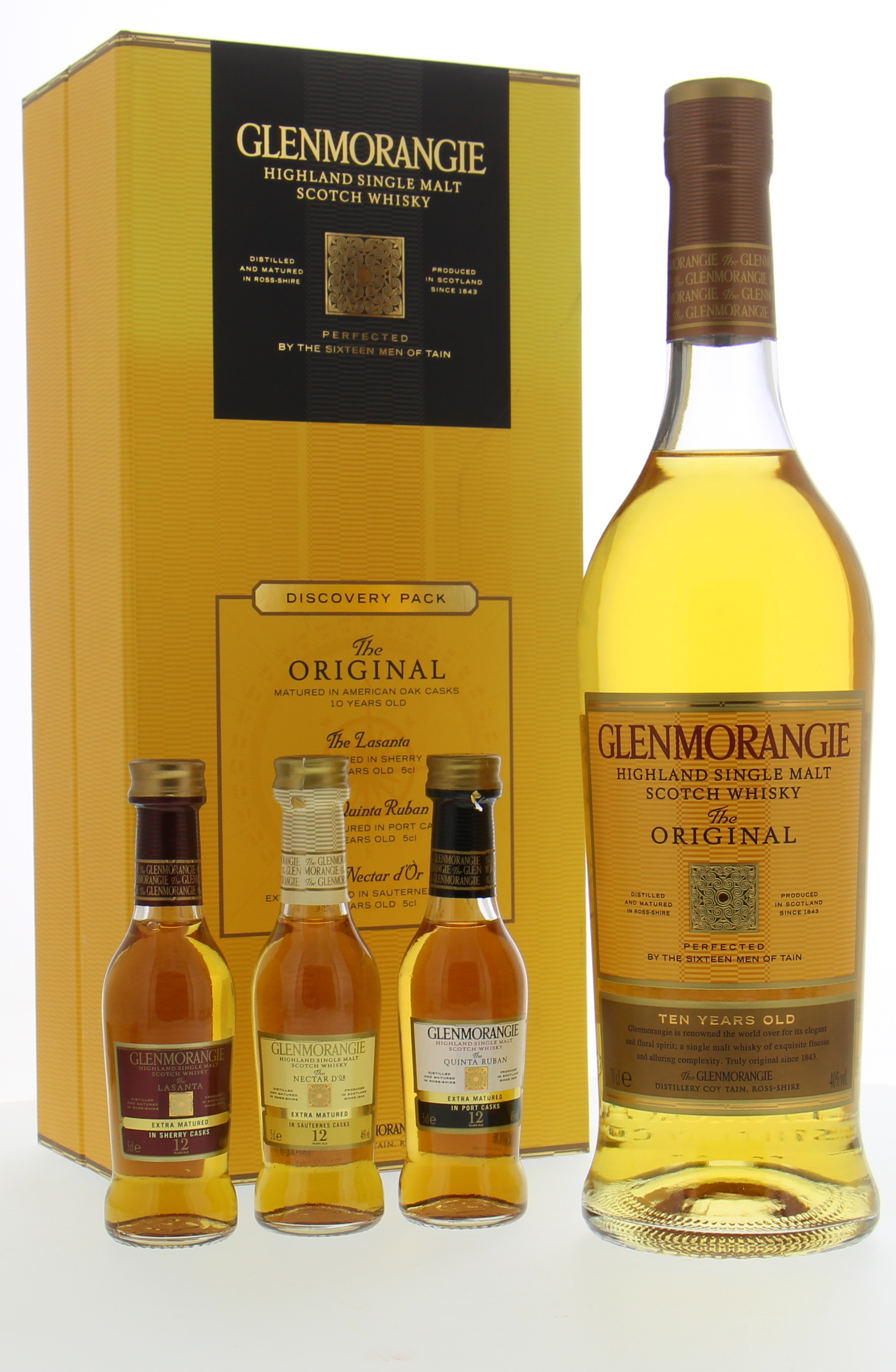 Glenmorangie - The Original 10 Years Old Coffret with Miniatures 40% NV